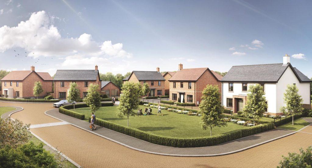 Broad Blunsdon Heights Development in Swindon