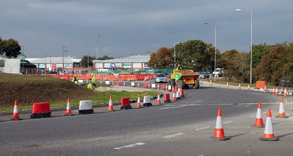 Greenbridge roundabout transformation