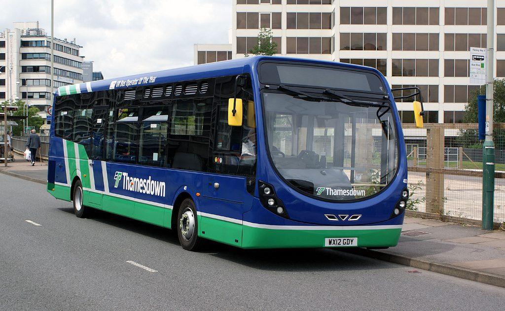 Thamesdown Bus Service in Swindon