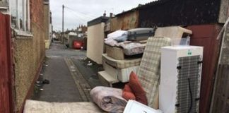 Manchester Road Fly Tipping