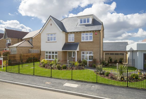Redrow housing development near Swindon