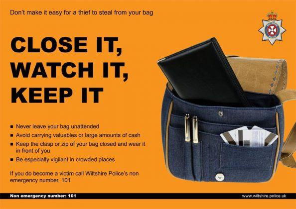 Wiltshire Police - Handbag Theft