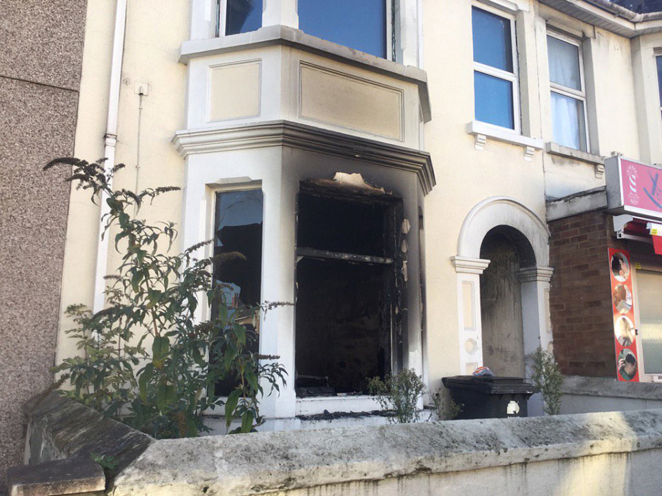Swindon house fire - Manchester Road