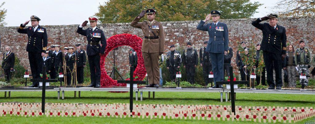 Fields of Remembrance in Wootton Bassett