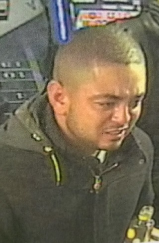 Image of man Police want to speak to in relation to the incident