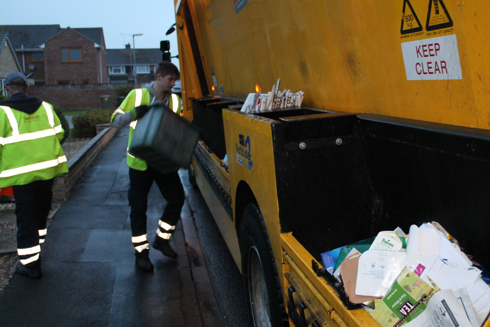 refuse and recycling collections over the Christmas holiday period