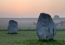 Sunrise The Avenue Avebury (credit to www.visitwiltshire.co.uk)