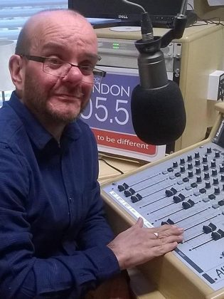 SWINDON 105.5 NEWS PRESENTER DAVE WOODS