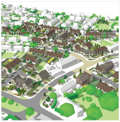 Regeneration plans in Culverhay