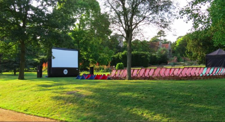 open cinema event in Swindon