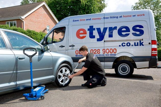etyres-van-with-audi-on-drive