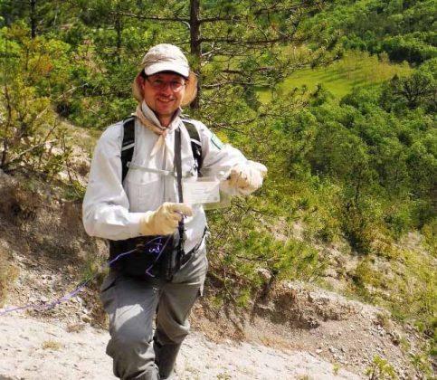 South France Hiker