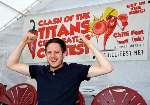 Clash of the titans chilli fiesta