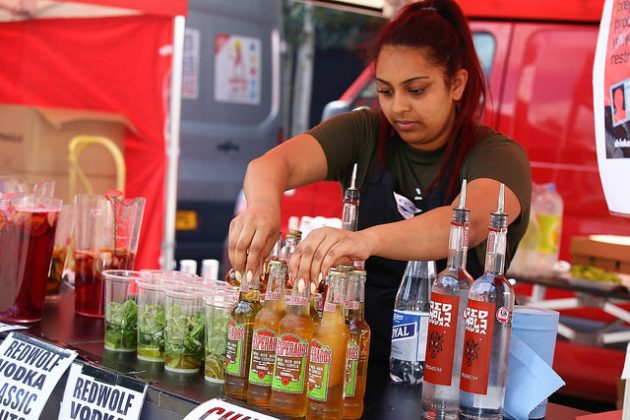 alcohol on offer at swindon chilli fiesta