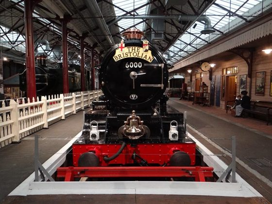GWR locomotive King George V (KGV)