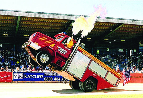 Backdraft Wheelie Fire Truck to star at Emergency Services Show