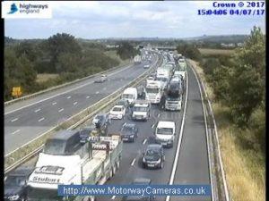M4 traffic camera image