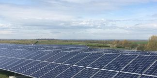 Chapel Farm solar park Swindon