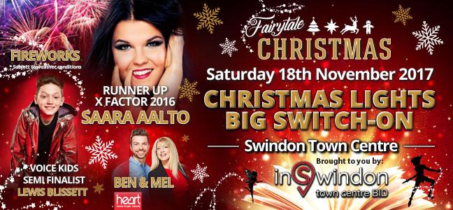 InSwindon Christmas Event Banner