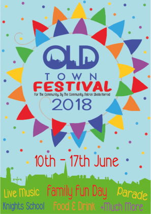 Old Town Festival Flyer 2018
