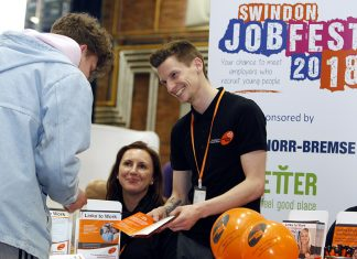 EBP with Swindon Jobfest 2018 at Steam.