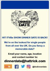 Dinner Date in Swindon Flyer