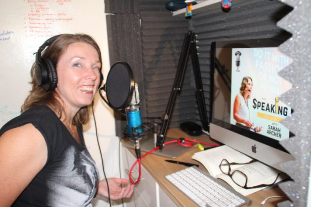The podcasts by Sarah Archer – an author, actor and stand-up comedian