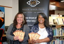 image of Naz Ashun and Sarah Ray, co-founders of Vision Maker Press