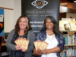 image of Naz Ashun and Sarah Ray, co-founders of Vision Maker Press