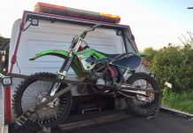 Seized bike - Swindon