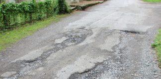 Potholes Swindon