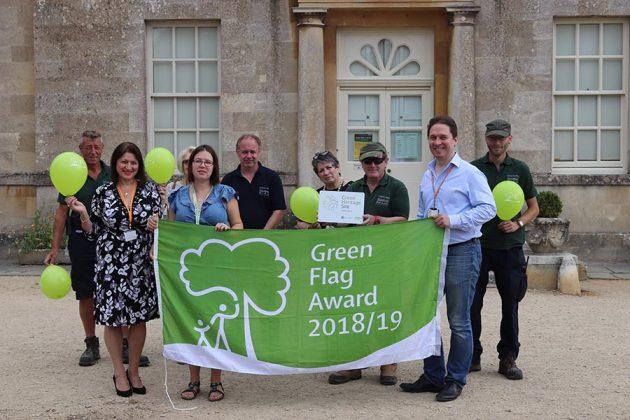 Lydiard Park wins Green Flag Award 2018/2019