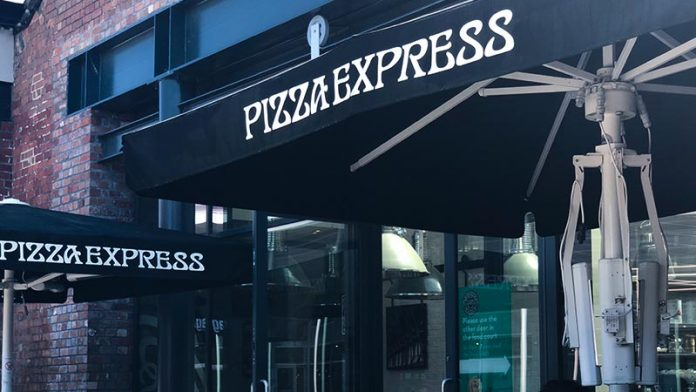 Pizza Express Restaurant Swindon