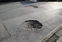 potholes in swindon