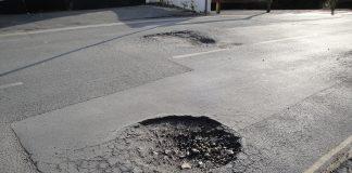 potholes in swindon