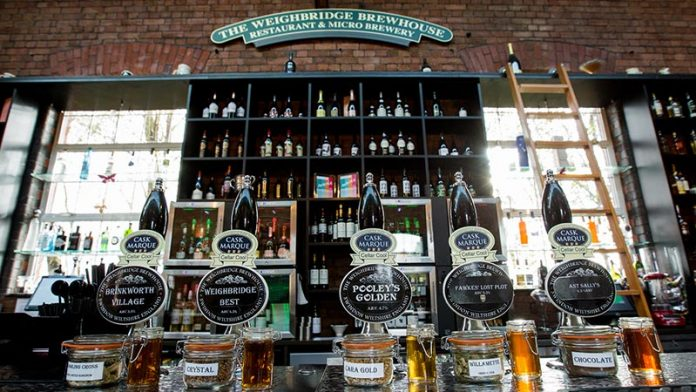 The Weighbridge Brewhouse - Restaurant and Micro Brewery Swindon