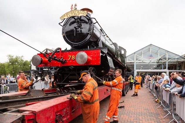 McArthurGlen Train Move Morning 21 August-75