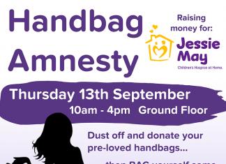 Jessie May - Swindon Handbag Amnesty