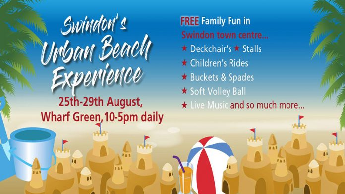 Swindon Town Centre Urban Beach Experience