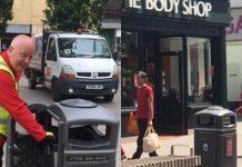 inswindon BID fund new town centre litter bins