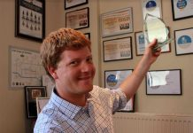 Arkell's Swindon Brewery Awards Head Brewer Alex Arkell