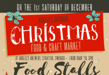 Arkell's Christmas Market Poster