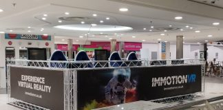 Virtual reality pods - The Brunel Shopping Centre Swindon