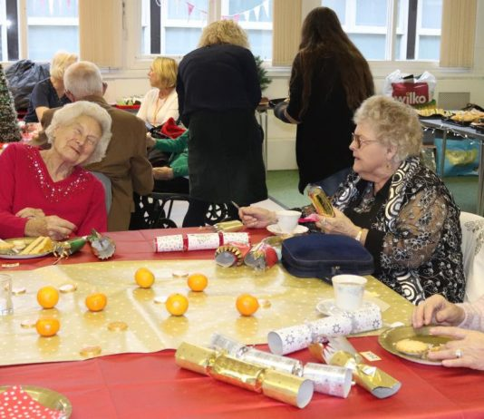lonely swindon residents get early christmas presents