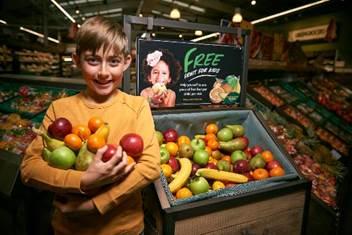 Free fruit give away morrisons Swindon