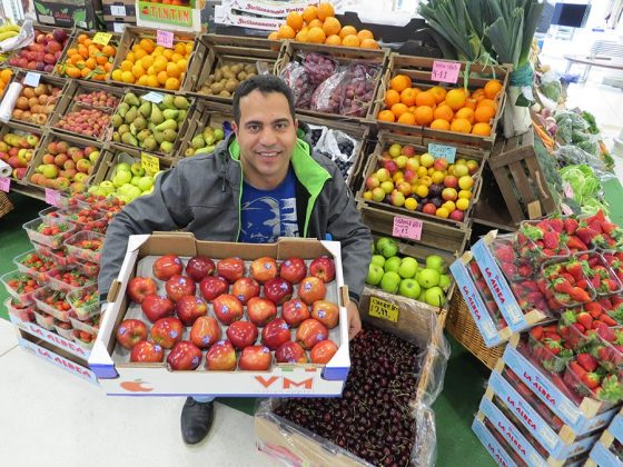 Mahmood Shams of Sams Fruiters Brunel Centre Swindon
