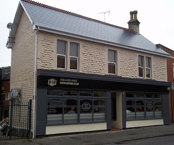 The Hop Inn Pub Old town Swindon