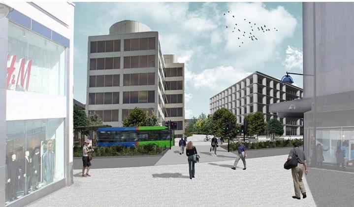 Bus Boulevard - Swindon