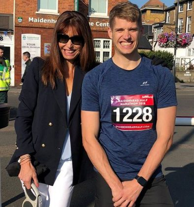 James Purrington with mum Philippa
