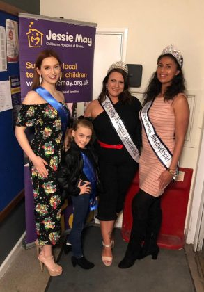 Beauty Queens at Pamper and Prosecco fundraiser